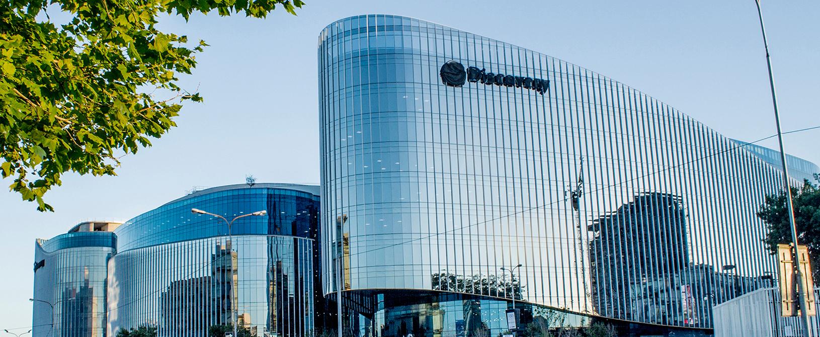 office facades. Discovery Global Head Office Facades