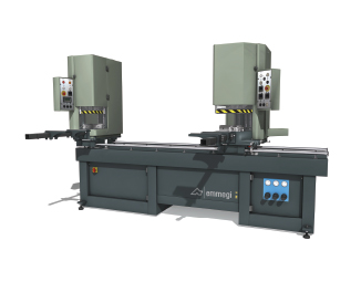 Emmegi Fusion 2LV Double-Head Welding Machine