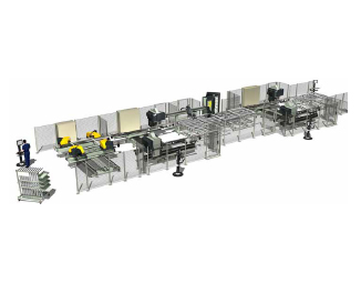 Emmegi Integra Q1-Q2 Welding and Corner Cleaning Line