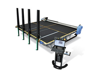 Macotec Master Shape 3.7 FR Float Glass Cutting Table