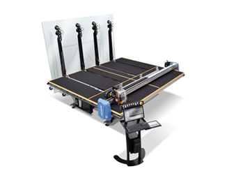 Macotec Master Shape 3.7 FRV Float Glass Cutting Table